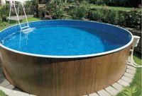 Virszemes baseins (D=4,6m, dziļums=1,07m) swirl