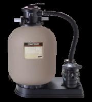 Smilšu filtrs D=600mm ar sūkni (14m3/h)
