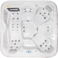 SPA Venus (+3,5cm thermal insulation) 2150 × 2150 × 860 mm